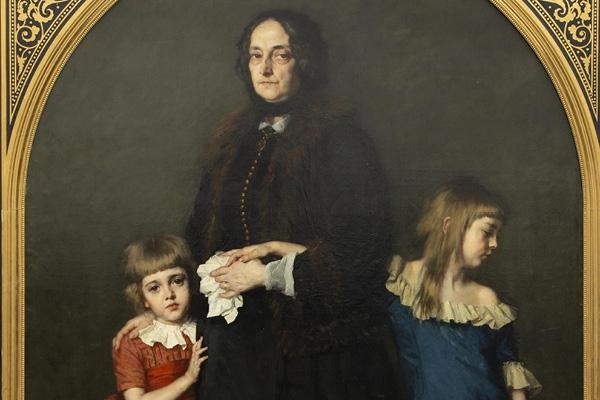 Expert's voice | A monumental painting by Thérèse Schwartze at auction