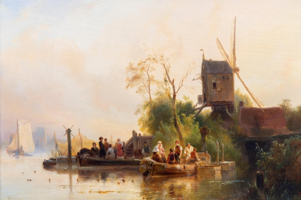 Expert's voice | Two dreamy paintings by the romantic Dutch painter Wijnand Nuijen at auction