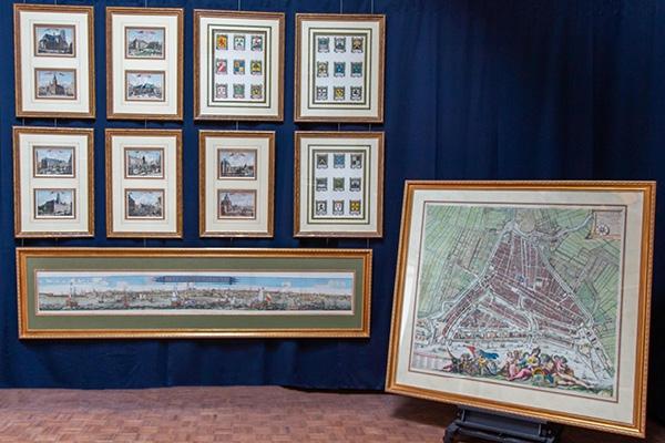 Expert's voice | A large map of Rotterdam by Johannes de Vou & Romeyn de Hooghe at auction